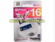 USB флеш накопитель Silicon Power 16GB Touch 835 Blue USB 2.0 (SP016GBUF2835V1B)