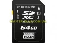 Карта памяти GOODRAM 64GB SDXC Class 10 (SDC64GXC10GRR10) для компьютера