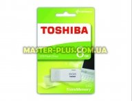 USB флеш накопитель TOSHIBA 8GB Hayabusa White USB 2.0 (THN-U202W0080E4) для компьютера