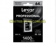 Карта памяти Lexar 64GB XQD 1400X Professional (LXQD64GCRBEU1400)