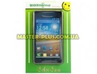 Чехол для моб. телефона Mobiking Nokia 200 Asha black/Silicon (16664)
