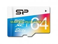 Карта памяти Silicon Power 64GB microSDXC Class 10 UHS-I U3 (SP064GBSTXBU1V20SP)