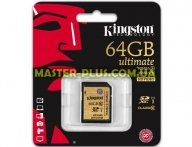 Карта памяти Kingston 64Gb Ultimate SDXC class 10 UHS-I (SDA10/64GB)