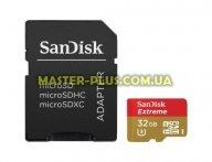 Карта памяти SANDISK 32GB microSDHC Class 10 UHS-I (SDSQXNE-032G-GN6AA)