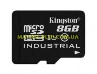 Карта памяти Kingston 8GB microSD class 10 USH-I (SDCIT/8GBSP) для компьютера