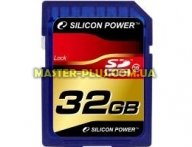 Карта памяти 32Gb SDHC class 10 Silicon Power (SP032GBSDH010V10)