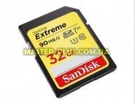 Карта памяти SANDISK 32GB SDHC class 10 UHS-I U3 4K Extreme (SDSDXVE-032G-GNCIN)