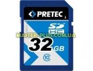 Карта памяти Pretec 32GB SDHC Class10 USH-I (SHSD032G)