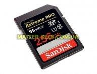 Карта памяти SANDISK 256GB SDXC Extreme Pro UHS-I U3 Class10 (SDSDXPA-256G-G46) для компьютера