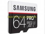 Карта памяти Samsung 64GB microSDXC class 10 UHS-I U3 (MB-MD64DA/RU)
