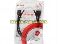 Дата кабель USB 2.0 AM/CM 0.5m Cablexpert (CCP-USB2-AMCM-0.5M)