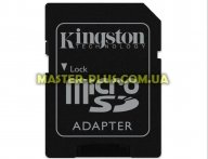Карта памяти Kingston microSDHC 16GB Class 10 UHS-I U3 (SDCA3/16GB) для компьютера
