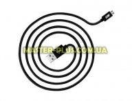 Дата кабель JUST Copper Micro USB Cable 1,2M Black (MCR-CPR12-BLCK) для мобильного телефона