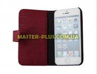 Чехол для моб. телефона Drobak для Apple Iphone 5 /Elegant Wallet Red (210238) для мобильного телефона