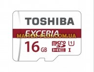 Карта памяти TOSHIBA 16GB microSDHC class 10 (THN-M302R0160EA) для компьютера