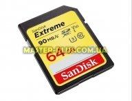 Карта памяти SANDISK 64GB SDXC class 10 UHS-I U3 4K Extreme (SDSDXVE-064G-GNCIN)