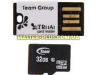 Карта памяти Team 32GB class 10 Team + Reader (TUSDH32GCL1029)