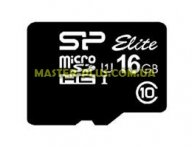 Карта памяти Silicon Power 16GB microSD class 10 UHS-I Elite (SP016GBSTHBU1V10)