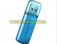 USB флеш накопитель Silicon Power 64GB Helios 101 Blue USB 2.0 (SP064GBUF2101V1B) для компьютера