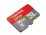 Карта памяти SANDISK 16GB microSDHC Class 10 UHS-I (SDSDQUAN-016G-G4A)