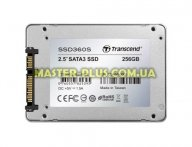 "Накопитель SSD 2.5"" 256GB Transcend (TS256GSSD360S) для компьютера"
