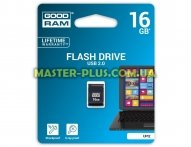 USB флеш накопитель GOODRAM 16GB UPI2 Piccolo Black USB 2.0 (UPI2-0160K0R11) для компьютера