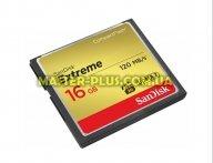 Карта памяти SANDISK 16GB Compact Flash Extreme (SDCFXS-016G-X46)