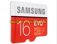 Карта памяти Samsung 16GB microSD Class 10 UHS-I EVO PLUS (MB-MC16DA/RU) для компьютера