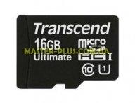 Карта памяти Transcend 16Gb microSDHC Class 10 UHS-I Ultimate 600x (TS16GUSDHC10U1) для компьютера