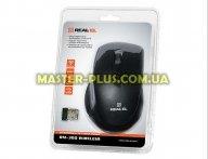 Мышка REAL-EL RM-300 black-grey для компьютера