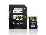 Карта памяти GOODRAM 16Gb microSDHC class 4 (SDU16GHCAGRR10/SDU16GHCAGRR9) для компьютера