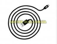 Дата кабель JUST Copper Micro USB Cable 2M Black (MCR-CPR2-BLCK) для мобильного телефона