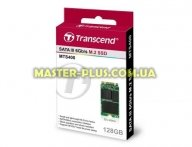 Накопитель SSD M.2 128GB Transcend (TS128GMTS400) для компьютера