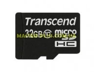 Карта памяти Transcend 32Gb microSDHC class 10 (TS32GUSDC10) для компьютера