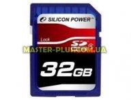 Карта памяти Silicon Power 32Gb SDHC class 4 (SP032GBSDH004V10)