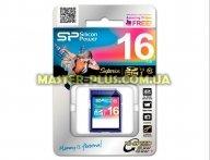 Карта памяти Silicon Power 16GB SDHC Class10 UHS-I U1 (SP016GBSDHCU1V10)