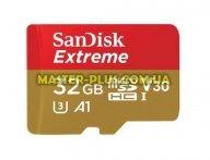 Карта памяти SANDISK 32GB microSDHC V30 A1 UHS-I U3 4K Extreme (SDSQXAF-032G-GN6MA)