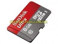 Карта памяти SANDISK 8GB microSDHC Class 10 UHS (SDSDQUAN-008G-G4A)