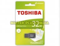 USB флеш накопитель TOSHIBA 32GB Mikawa Gray USB 2.0 (THN-U201G0320M4) для компьютера