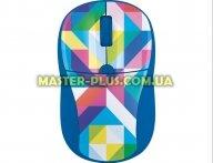 Мышка Trust Primo Wireless Mouse blue geometry (21480)