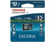 Карта памяти TOSHIBA 32GB microSD class 10 (SD-CX32UHS1(6A) для компьютера