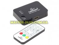 Коммутатор видео Cablexpert HDMI, (3 вх, 1 вых) (DSW-HDMI-33) для компьютера