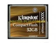 Карта памяти Kingston 32Gb Compact Flash 600x (CF/32GB-U3) для компьютера