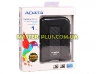 """Внешний жесткий диск 2.5"""" 1TB ADATA (AHD710-1TU3-CBK) для компьютера"""
