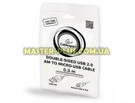 Дата кабель USB 2.0 AF to Micro 5P 0.3m Cablexpert (CC-mUSB2D-0.3M) для мобильного телефона