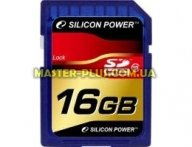 Карта памяти 16Gb SDHC class 10 Silicon Power (SP016GBSDH010V10) для компьютера