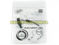 Кабель мультимедийный Jack 3.5mm M/Jack 3.5mm F L-R-MIC-GND to L-R-GND-MIC Cablexpert (CCA-419)