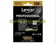Карта памяти Lexar 128GB microSDXC class 10 UHS-II U3 (LSDMI128CRBEU1800R)
