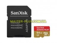 Карта памяти SANDISK 64GB microSD class10 (SDSQXSG-064G-GN6MA) для компьютера