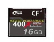 Карта памяти Team Compact Flash 16GB 400X (TCF16G40001) для компьютера